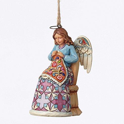 Enesco Jim Shore Sewing Angel Ornament