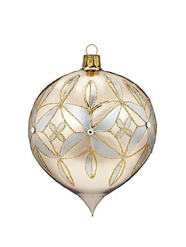 Waterford Lismore 60th Anniversary Ball Drop Ornament