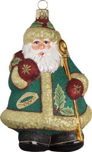 Glitterazzi 12 Days of Christmas, Five Golden Rings Ornament
