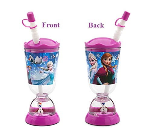 New Disney Frozen Mickey Princess Cars Sofia Olaf Jakes Minnie Toy Story Snowglobe Tumbler Cup (style 11)