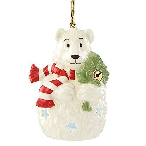 Lenox Polar Bear Lit China Ornament