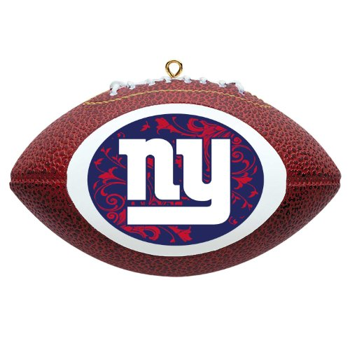 NFL New York Giants Mini Replica Football Ornament