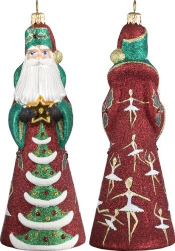 Glitterazzi 12 Days of Christmas, Nine Ladies Dancing Ornament