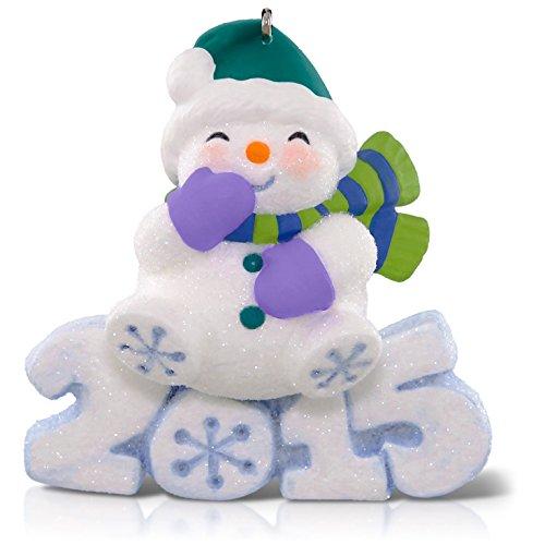 Hallmark Keepsake Ornament Frosty Fun Decade Snowman 6th in The Frosty Fun Decade Series