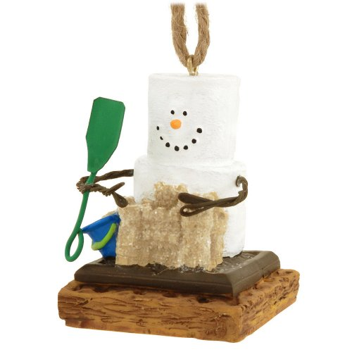 1 X S'more with Sand Castle Ornament