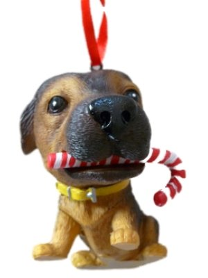 The Dog Collectible German Shepherd Christmas Ornament #49