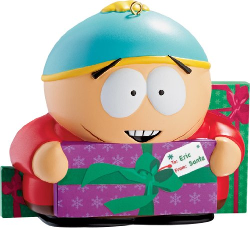 Cartman With Presents 2012 Carlton Heirloom Ornament