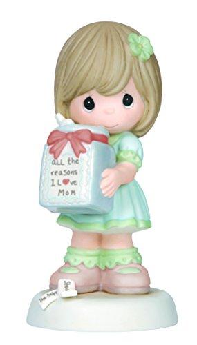 Precious Moments Girl Holding Jar Figurine