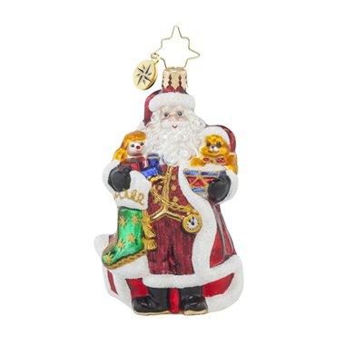 Christopher Radko A Christmas Classic Santa Gem