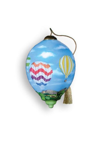 "Ne'Qwa Ornament ""Balloons"", 3-Inches Tall, Designed by noted artist Paul Brent"