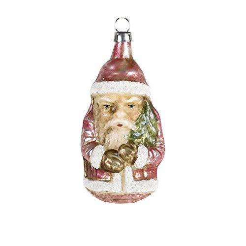 "Vintage mouthblown Christmas Glass ornament ""Little Santa"" by MAROLIN® Germany"
