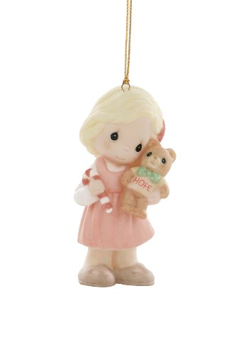 """Precious Moments """"May The Spirit Of Hope Embrace This Holiday Season"""", Christmas Ornament"""