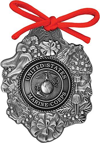 USMC Marine Corps EGA Eagle Globe Anchor Commemorative Ornament American Heritage Vintage Christmas Collection