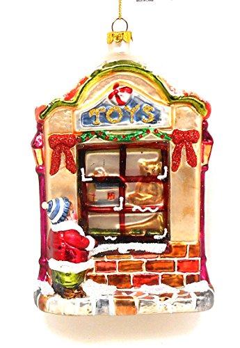 Glass Toy Shop Ornament