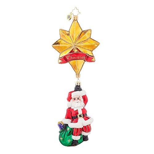 Christopher Radko Royal Star Santa 30th Anniversary Christmas Ornament