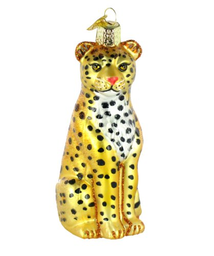 Old World Christmas Leopard Ornament