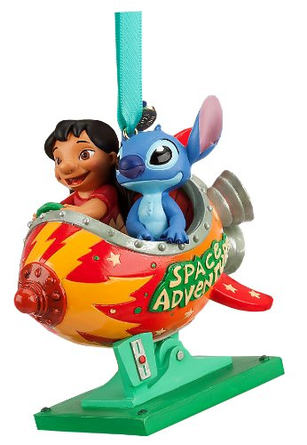 Disney Store Lilo and Stitch Space Adventure Sketchbook Ornament Figurine