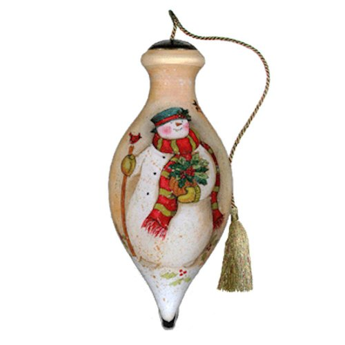 "Ne'Qwa Ornament ""Warm Hearts"", 4-Inches Tall, Designed by noted artist Susan Winget"