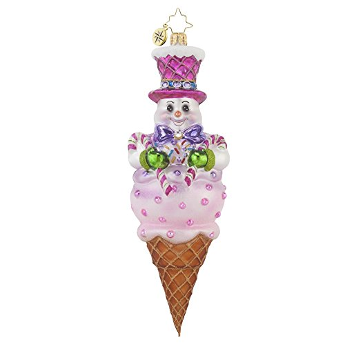 Christopher Radko Frosty Treat Christmas Ornament