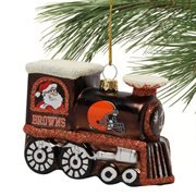 NFL Cleveland Browns Train Ornament, 3.75″, Orange