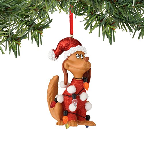 Department 56 Classics Grinch Max in Lights Ornament