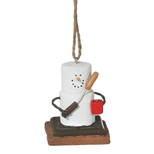 S'mores Campfire Christmas Ornament