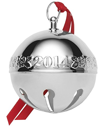 Wallace 2014 Sleigh Bell 44th Edition Christmas Ornament