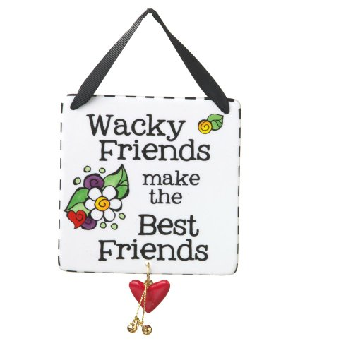Midwest-CBK Wacky Friends Tile Ornament