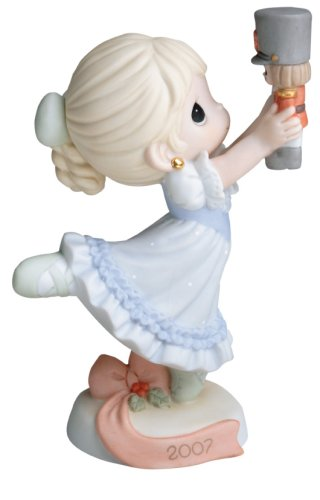 Precious Moments Dancing for Joy on Christmas Morning 2007 Annual Holiday Figurine