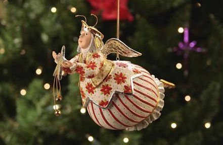 Patience Brewster Celeste Star Fairy Ornament – Krinkles Christmas Décor New 08-30573