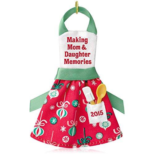 Hallmark Keepsake Ornament Making Mom and Daughter Memories Apron