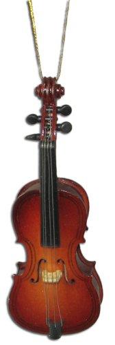 Miniature Cello Christmas Ornament 4″