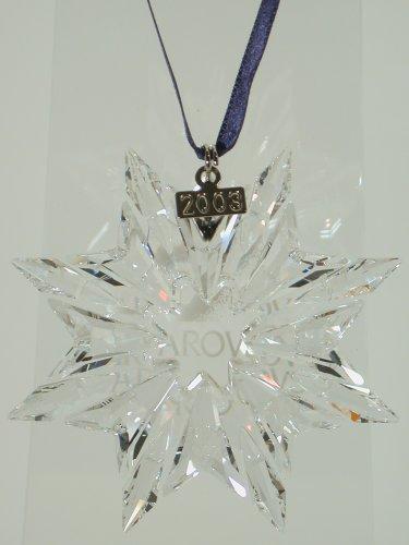 Swarovski Weihnachtsstern 2003 ornament christmas 622498 AP 2003