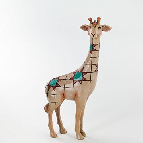 Jim Shore for Enesco Heartwood Creek 4.5-Inch Giraffe Figurine, Mini