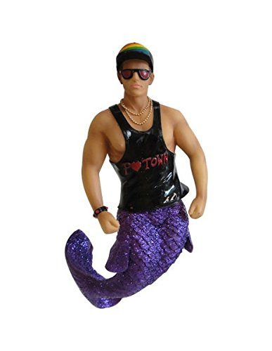 December Diamonds P Town Merman Ornament
