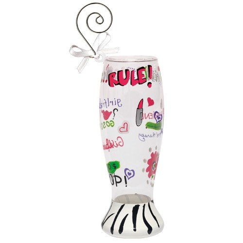 Santa Barbara Design Studio Lolita Holiday Mini-Pilsner Ornament, Girlfriends Rule