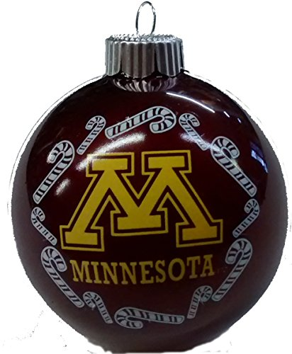 University of Minnesota Sports Traditional 2 5/8″ Christmas Ornament