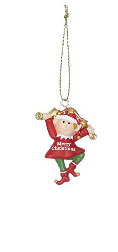 Santa's Lil Helper Ornaments – Set of 3 (Merry Christmas)