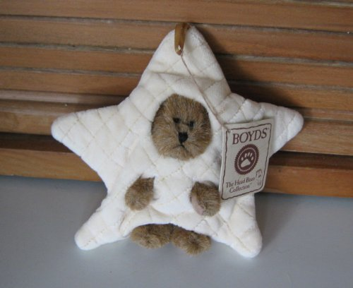 Decembeary Peekers of the Month Ornament Boyds Bear Plush