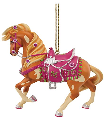 Enesco Trail of Painted Ponies Rhinestone Cowgirl Ornament, 2.63″