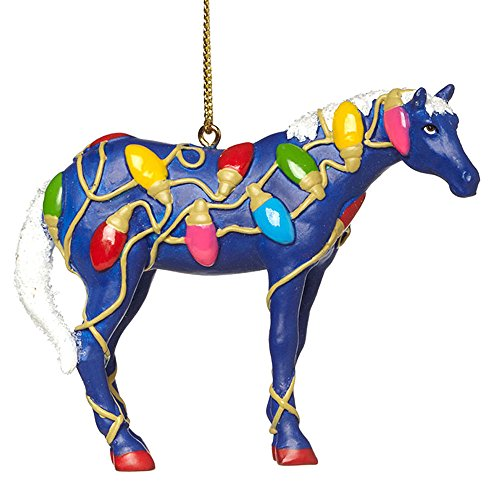 Enesco Trail of Painted Ponies Tangled Ornament