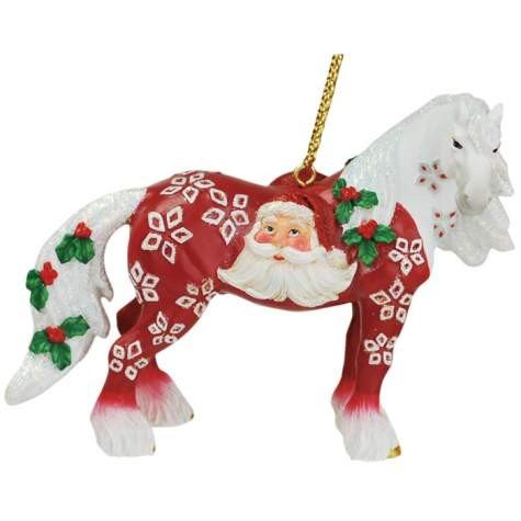Westland Giftware Horse of a Different Color Ornament, Santa Claus