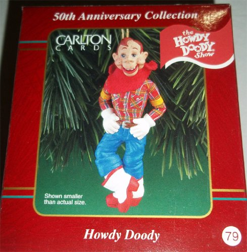 Carlton Heirloom Collection Howdy Doody Christmas Ornament NIB