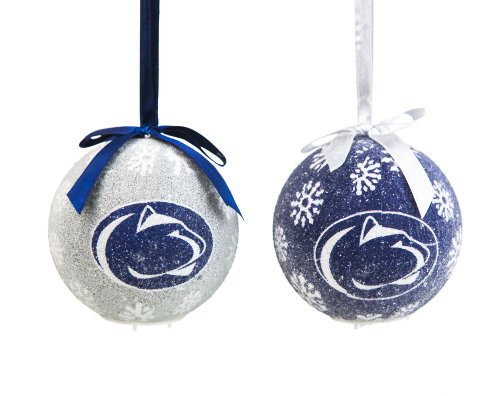 Penn State Boxed LED Ornament Set