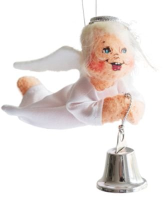 Annalee 3″ Silver Sparkle Angel Ornament