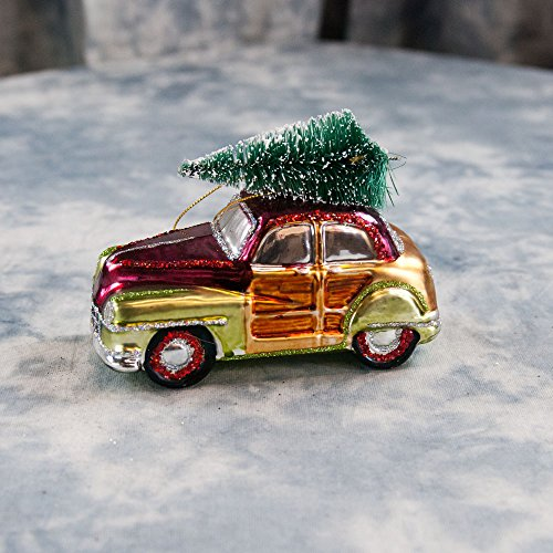 Car & Truck Christmas Ornaments