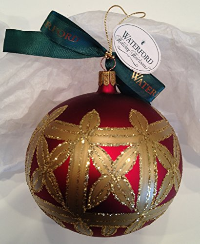Waterford Holiday Heirlooms Kylemore Regal Ball 1997 100-294-0