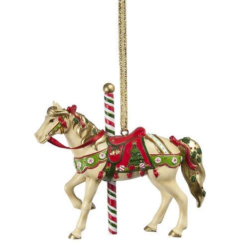 Enesco Trail of Painted Ponies Ho Christmas Carousel Ho, 2.8-Inch