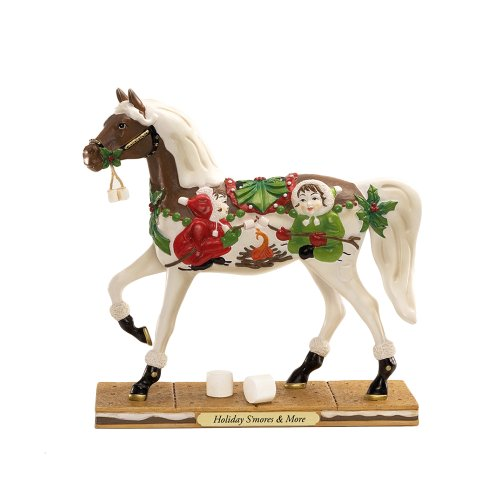 Trail of Painted Ponies Holiday Smores an More Pony Figurine 7-Inch