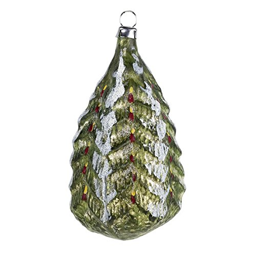 "Vintage mouthblown Christmas Glass ornament ""Christmas Tree"" by MAROLIN® Germany"